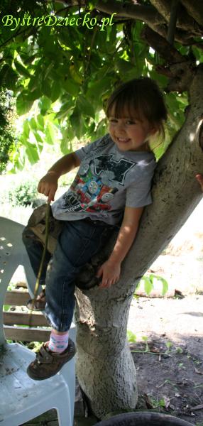 Ogród to niezliczone atrakcje dla dzieci