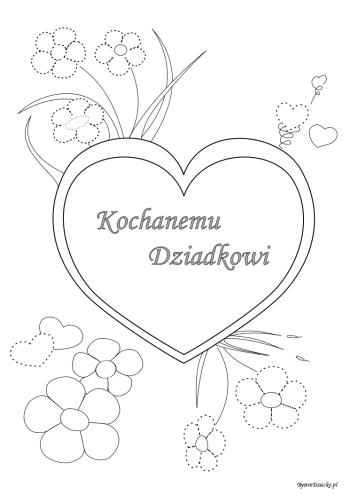 Laurka dla Dziadka - grafomotoryka dla dzieci, Anna Kubczak