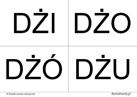 Nauka czytania sylabami dla dzieci - metoda krakowska