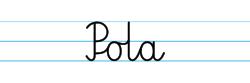 Karty pracy z imionami - nauka pisania imion dla dzieci - Pola