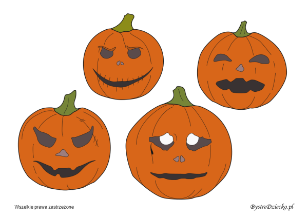 picture regarding Halloween Decorations Printable identified as Halloween decorations printable pumpkin templates