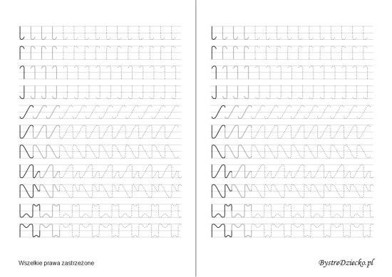 Printable tracing lines worksheets for school kids