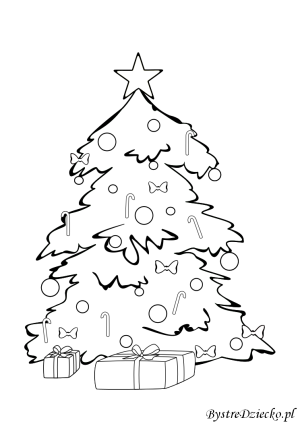 Christmas coloring pages for kids, Anna Kubczak