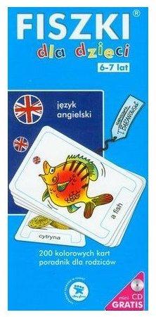 Fiszki język angielski dla dzieci 6-7 lat