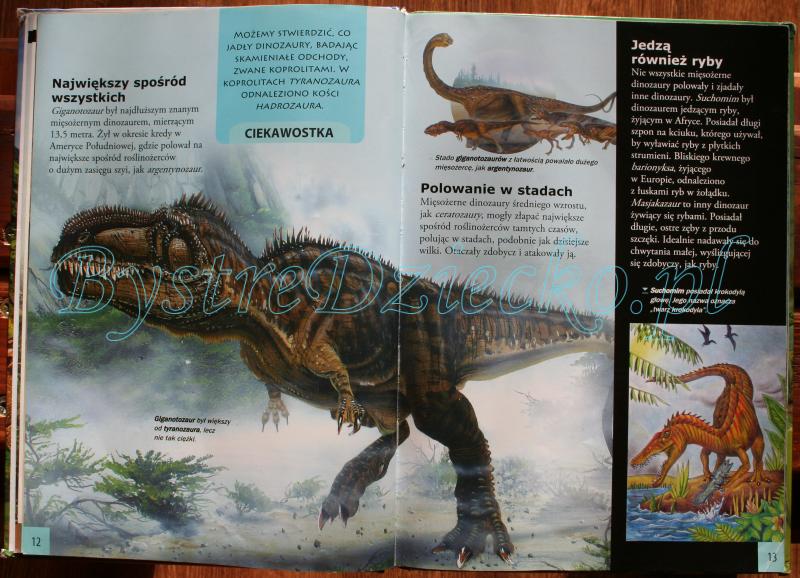 Książki o dinozaurach dla dzieci