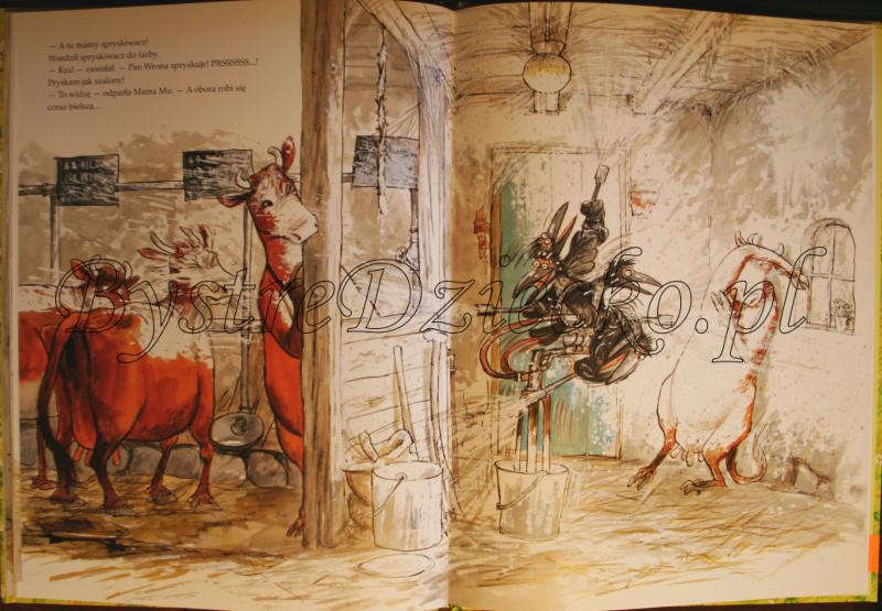 Książki dla dzieci autorstwa Wieslander Jujja i Tomas - Mama Mu sprząta
