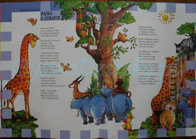 Najlepsze książki dla dzieci z wierszami