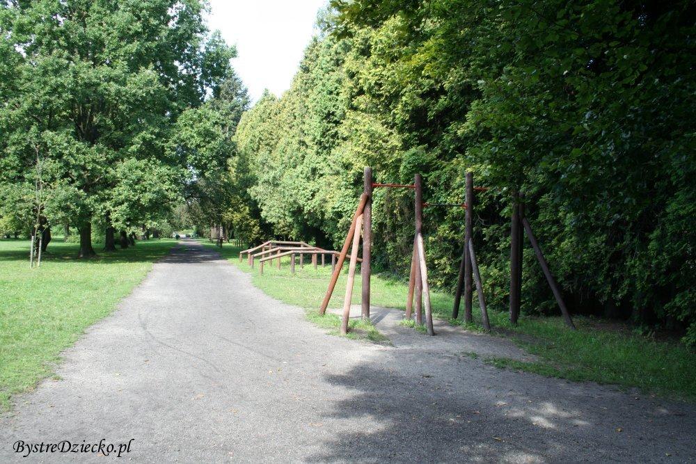 Ścieżka zdrowia pod chmurką Wrocław Grabiszyn-Grabiszynek, Park Grabiszyński