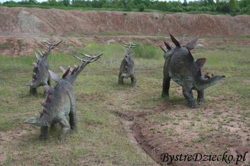Dinopark - Park Dinozaurów JuraPark Krasiejów - trasą dinozaurów
