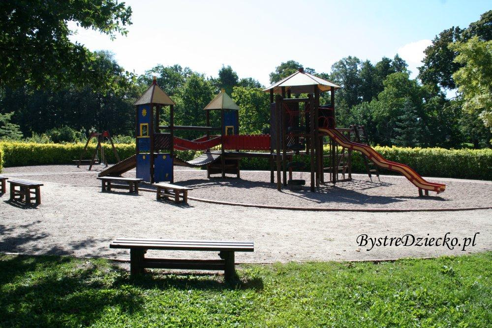Plac zabaw Wrocław Leśnica, Park Leśnicki