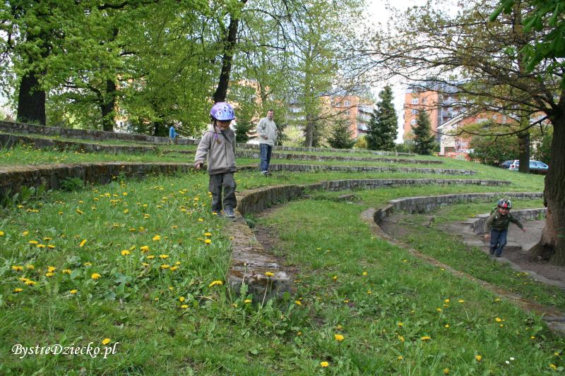 Amfiteatr w Parku Klecińskim we Wrocławiu