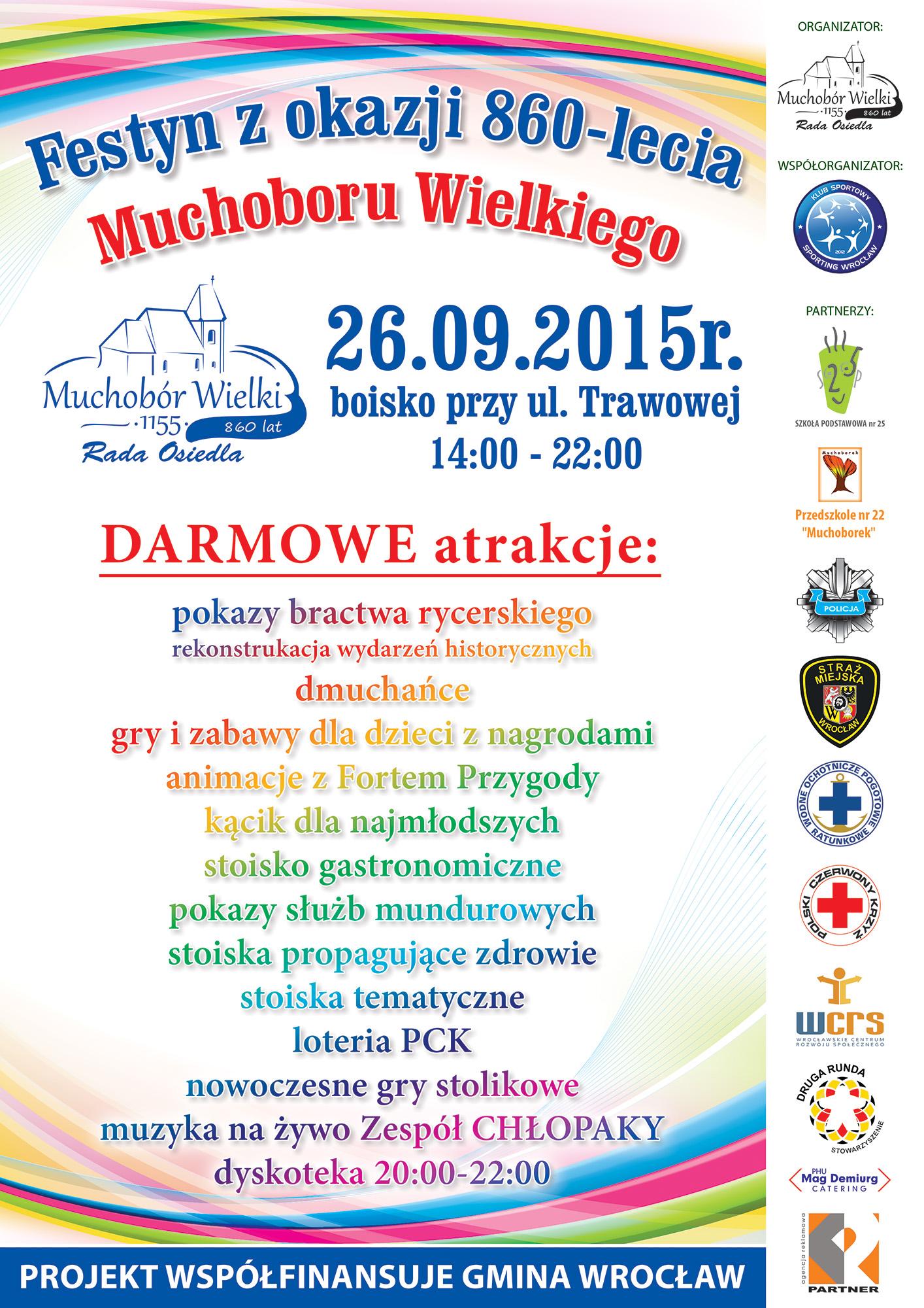 Wycieczki weekendowe z dziećmi - sezonowe atrakcje Wrocławia na festynie z okazji 860-lecia Muchoboru Wielkiego