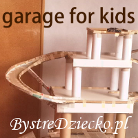 DIY garage from cardboard and paper rolls - eco recykled toys for kids made of cardboard