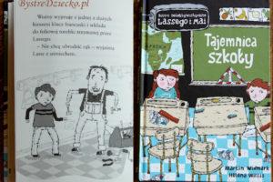 Książki dla dzieci - Biuro Detektywistyczne Lassego i Mai – Tajemnica szkoły - Martin Widmark - recenzja