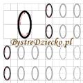 Cyferki dla dzieci - szablon do nauki pisania 0 - matematyka