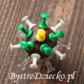 Kasztany jako figurki wirusów - zabawy plastyczne dla dzieci jesienią