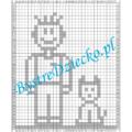 Dyktanda graficzne, nauka kodowania i programowanie dla dzieci - karty pracy do wydruku
