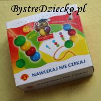 Gra edukacyjna dla dzieci Nawlekaj nie czekaj firmy Alexander