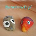 Malowane kamienie jako dekoracyjne dodatki i upominki przygotowane przez dzieci lub dla dzieci