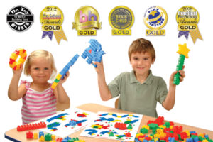Klocki konstrukcyjne dla dzieci to zabawki łączące dzieci i ich rodziców