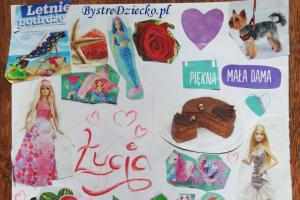 Zajęcia plastyczne dla dzieci - kolaż plastyczny w temacie 'Moje marzenia'