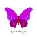 Kolorowanka dla dziecka z motywem motyla
