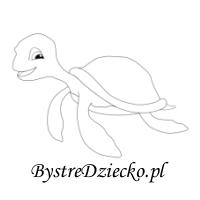 Kolorowanki dla dzieci - żółw morski
