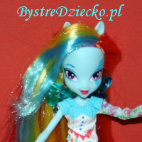 Lalki My Little Pony Equestria Girls - Rainbow Dash w stylu rockowym od Hasbro
