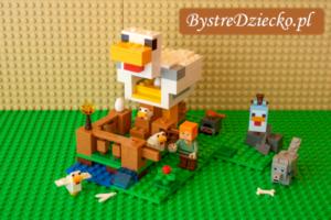 Recenzja Lego Minecraft Kurnik 21140, test klocków LEGO