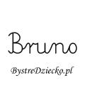 Karty pracy z imionami - nauka pisania imion dla dzieci - Bruno