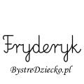 Karty pracy z imionami - nauka pisania imion dla dzieci - Fryderyk