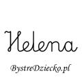 Karty pracy z imionami - nauka pisania imion dla dzieci - Helena