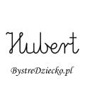 Karty pracy z imionami - nauka pisania imion dla dzieci - Hubert