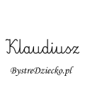 Karty pracy z imionami - nauka pisania imion dla dzieci - Klaudiusz