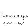 Karty pracy z imionami - nauka pisania imion dla dzieci - Konstancja