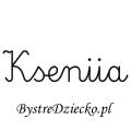 Karty pracy z imionami - nauka pisania imion dla dzieci - Kseniia