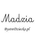 Karty pracy z imionami - nauka pisania imion dla dzieci - Madzia