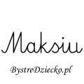 Karty pracy z imionami - nauka pisania imion dla dzieci - Maksiu