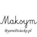 Karty pracy z imionami - nauka pisania imion dla dzieci - Maksym