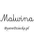 Karty pracy z imionami - nauka pisania imion dla dzieci - Malwina