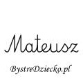 Karty pracy z imionami - nauka pisania imion dla dzieci - Mateusz