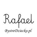 Karty pracy z imionami - nauka pisania imion dla dzieci - Rafael