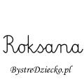 Karty pracy z imionami - nauka pisania imion dla dzieci - Roksana