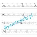 IM - nauka pisania sylabami - karty pracy dla dzieci