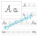 OAE - nauka pisania sylabami - karty pracy dla dzieci