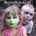 Maski karnawałowe i maski na Halloween dla dzieci z papier mache