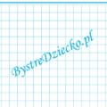 Kartka w kratkę 1 cm z ramką do wydrukowania, niebieskie linie, matematyka