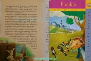 Bajki dla dzieci do czytania - Pinokio Carlo Collodi