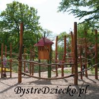 Plac zabaw dla dzieci we Wrocławiu w Parku Klecińskim