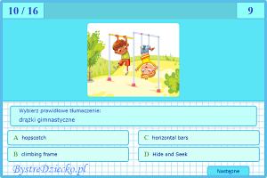 Quiz - Holiday in Home - Wakacje w Domu - quiz online angielski dla dzieci - Gra dla dzieci do nauki języka angielskiego